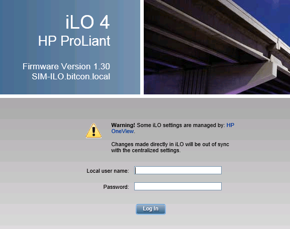 HowTo: adding hardware in HP OneView - BITCON IT consultants