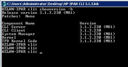 HowTo: update the HP 3PAR OS - BITCON IT consultants
